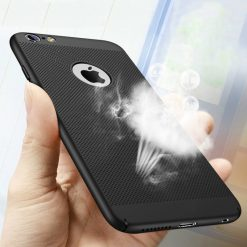 Hollow Heat Dissipation Hard Cases for iPhone with Protective Cover -  - iphone-case