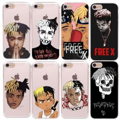 HryCase Matte Hard Plastic Xxxtentacion Case Cover For Apple iPhone 8 7 X 6 Plus 5 5S SE Transparent Phone Cases -  - iphone-case