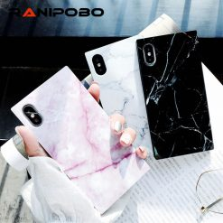 Marble texture Pattern Phone Cases For iPhone 7 Plus Glossy Soft TPU Silicone Case For iPhone X 8 7 6 6s Plus Back Cover Coque -  - iphone-case