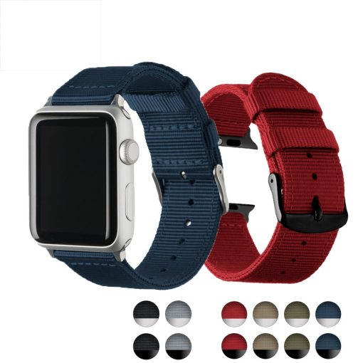 Lightweight Breathable waterproof Nylon strap for apple watch band 42mm 38mm -  - iwatch-brands