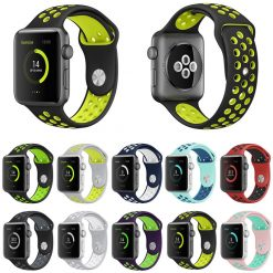 Sports Silicone strap for apple watch Iwatch band 42mm 38mm for iwatch Series1 2 3 -  - iwatch-brands