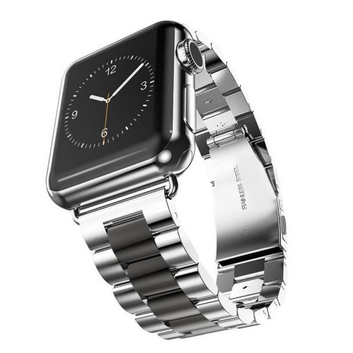 Stainless Steel Wrist band Strap For Apple Watch Band 38mm 42mm Iwatch 3 2 1 -  - iwatch-brands
