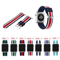 Soft Silicone Strap Replacement iWatch Bands for Apple Watch Sport Series 3/2/1 -  - iwatch-brands
