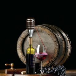 Electric Wine Decanter - Top quality Barrel Shaped Electric  Wine Decanter -  - gadget