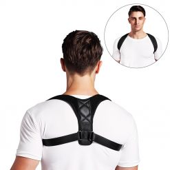 Adjustable Back Posture Corrector Clavicle Spine Back Shoulder Lumbar Brace Support -  - health-care