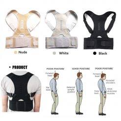 Magnetic Therapy Posture Corrector Brace Shoulder Back Support Belt for Men Women Braces & Supports Belt Shoulder Posture -  - health-care