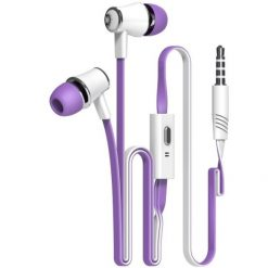 Colorful Flexible Hi Fi In Ear Earphones with Microphone -  - phone-accessories