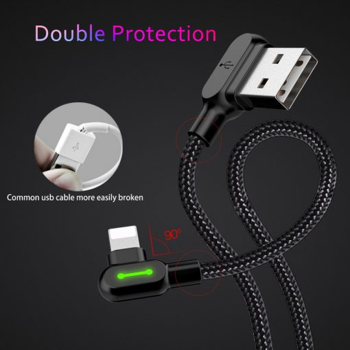 Lightning USB Cable for Apple Devices -  - phone-accessories