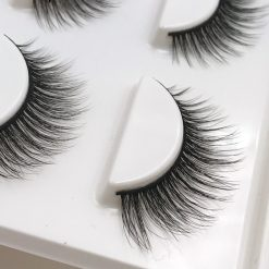 Long Beautiful Black False Eyelashes -  - beauty