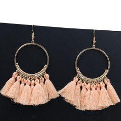 Women's Bohemian Tassel Earrings -  - beauty