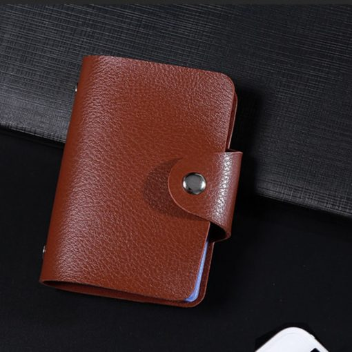 Leather Card Holder -  - gadget