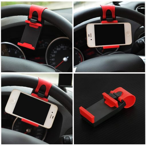 Universal Car Wheel Phone Holder -  - phone-accessories