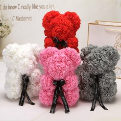 Handmade Love Rose Bear - Mothers Day, Birthday, Valentines Day Gift -  - home-garden