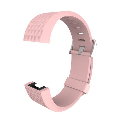 Strap Bracelet Silicone Replacement Watchband Wrist Strap For Fitbit Charge 2 Band Charge 2 Heart Rate -  - fitbit-brands