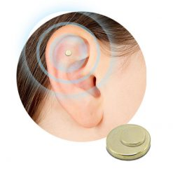 2PCS Magnet Auricular Quit Smoking Zerosmoke ACUPRESSURE Patch Not Cigarettes Health Therapy -  - gadget