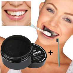 30g Teeth Whitening Powder Natural Organic Activated Charcoal Bamboo Toothpaste Teeth health Care 3AP24 -  - gadget