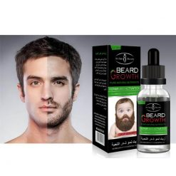 100% Natural Men Growth Beard Oil -  - beauty