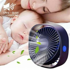 360° Portable Mini USB Cooling Fan with 3 Speed -  - gadget
