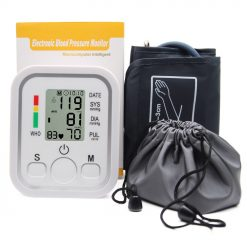 Automatic Digital Upper Arm Blood Pressure Monitor Tonometer Sphygmomanometers pulsometer Heart Beat Rate Pulse Meter Health -  - health-care