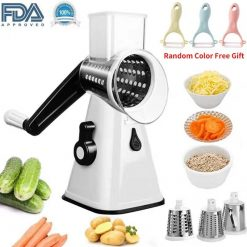 3 in 1 Vegetable Drum Grater -  - kitchen-accessories-appliances