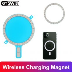 GTWIN Mag Safe for iPhone 12 Pro Max Wireless Charging Magnet for 12 Mini 11 Xs Xr 8 Mobile Phone Case Strong Magnetic Magsafe -  - iphone-case