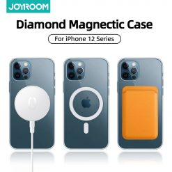 Magnectic Case For iPhone 12 Pro Max 12 mini Case Shockproof Full Protection Luxury Cover Support For Magsafe Wireless Charging -  - iphone-case